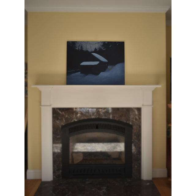 """Stephen Remick, """"Cozy"""", Contemporary Painting For Sale - Image 10 of 11"""