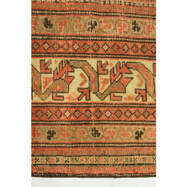 1920s Vintage Persian Malayer Rug - 10′3″ × 13′6″ For Sale - Image 9 of 10