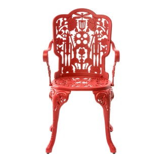 Seletti, Industry Armchair, Indoor/Outdoor, Red, Studio Job, 2017 For Sale