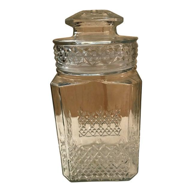 Vintage Square Canister Jar - Image 1 of 11