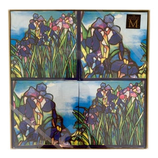 Museum of Modern Art Tiffany Studios Cocktail Napkins - 2 Boxes For Sale