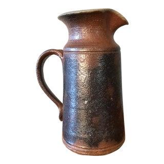 Vintage Mid Century Studio Pottery Stoneware Pitcher