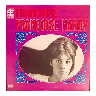 Vintage 1960s Francoise Hardy Album Art For Sale