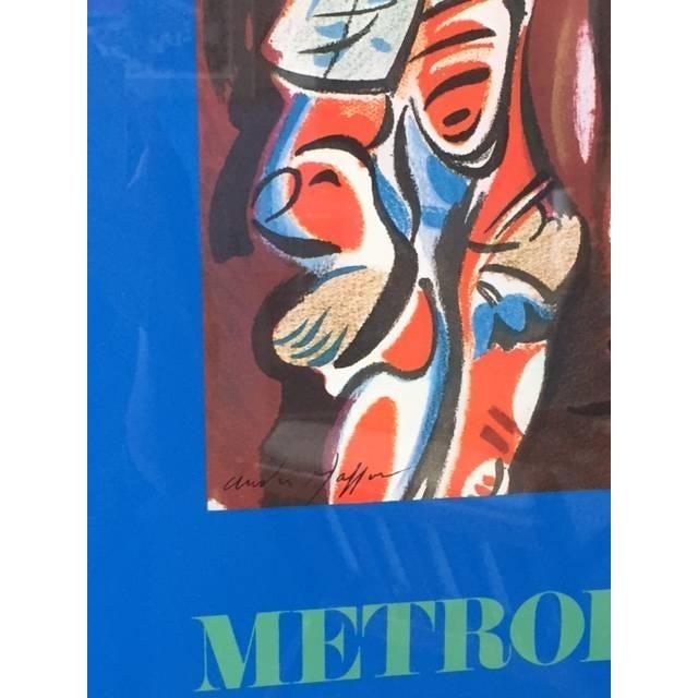 Vintage Metropolitan Opera Lithograph Poster - Image 3 of 3