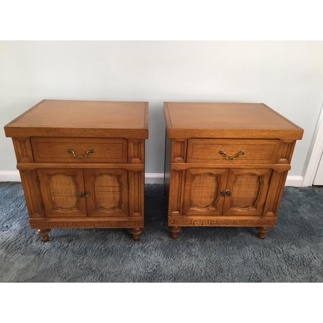 Daniel Jones Vintage Bedroom Nightstands - A Pair - Image 3 of 5