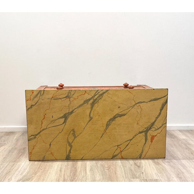 19th Century Painted Chest of Drawers, Italy For Sale In San Francisco - Image 6 of 8