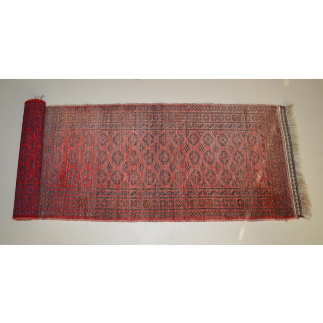 "Vintage Persian Runner- 2'5"" x 7'11"" - Image 2 of 7"