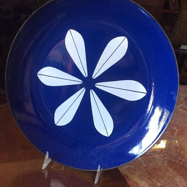 Catheineholm Blue Lotus Plates - Pair - Image 4 of 8