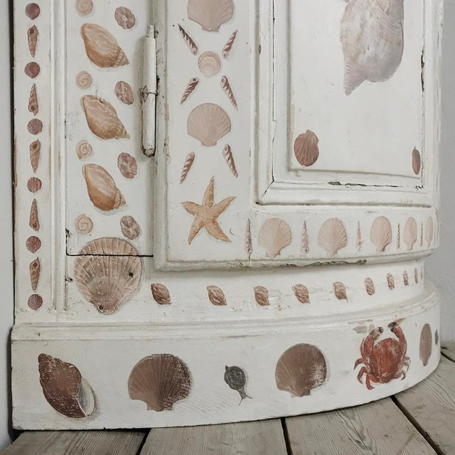 19th Century Swedish Painted Corner Cabinet For Sale - Image 9 of 13