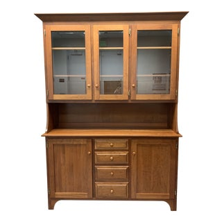 Contemporary Cherry Cupboard For Sale
