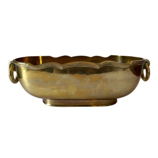 Mottahedeh Brass Cachepot For Sale