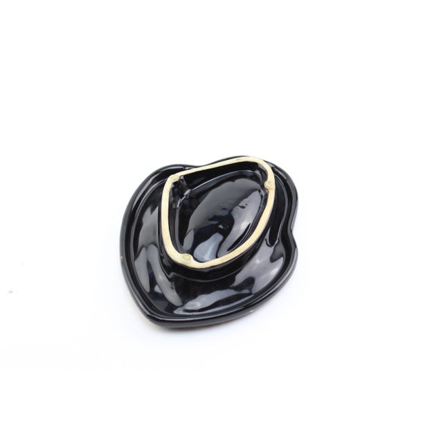 Black and Gold Atomic Ashtray - Image 4 of 7