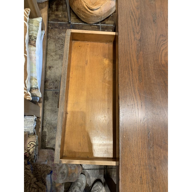 English Antique Primitive Dining Table For Sale - Image 3 of 10