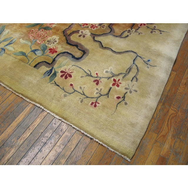 Art Deco Antique Chinese Art Deco Rug For Sale - Image 3 of 8