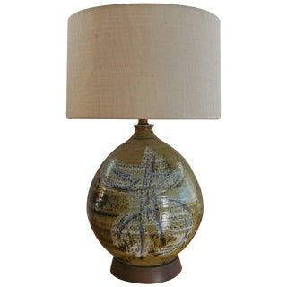 Ceramic Lamp by Joel Edwards For Sale