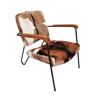 Austin Goat Deco Arm Chair For Sale