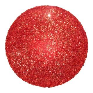 Tondo 180 Wall Light in Red Polycarbonate by Jacopo Foggini For Sale