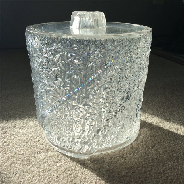 Vintage Lucite Ice Bucket - Image 10 of 10