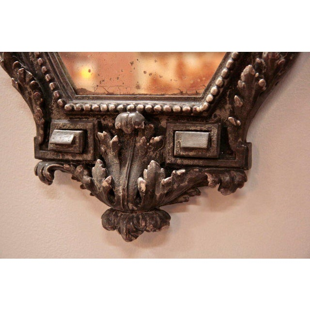 Pair of Italian 19th Century Mirrors For Sale - Image 4 of 10