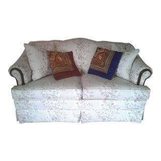 Traditional Country Style Loveseat by Broyhill