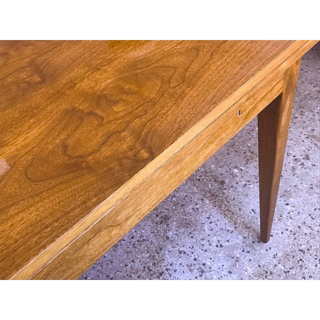 1950s Mid-Century Modern Edward Wormley for Dunbar Walnut Console For Sale In Tampa - Image 6 of 10