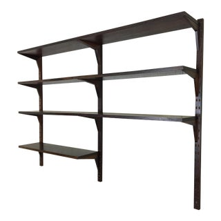 Rosewood Wall-Mounted Shelving From Denmark