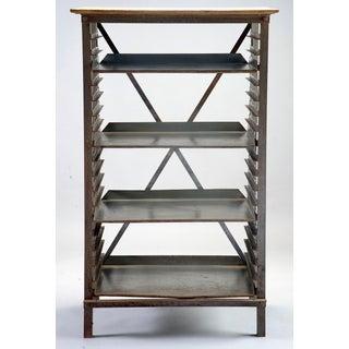 Industrial Blue Metal Adjustable Shelf Unit Preview