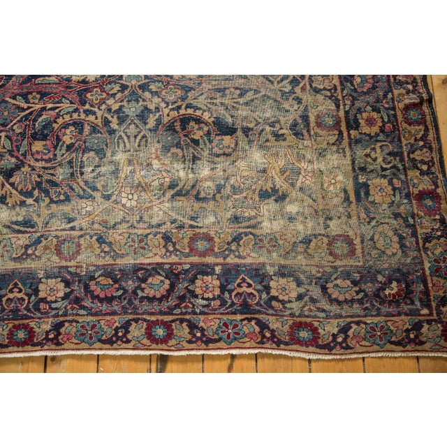 "Vintage Yezd Carpet - 9'2"" X 11'9"" For Sale - Image 10 of 13"