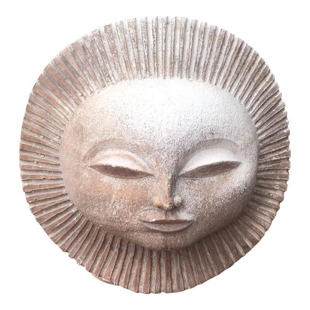 Austin Productions Inc Sun God Face Statue.Paul Bellardo For Sale