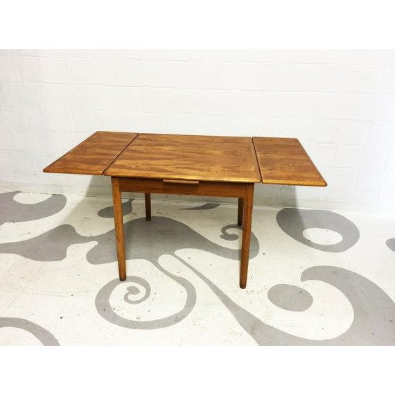 Mid-Century Modern Teak Dining Table - Image 2 of 6