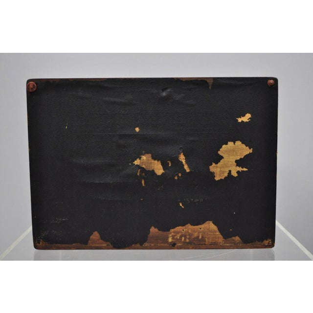 Brown Early 20th Century Antique Mahogany Cigar Humidor For Sale - Image 8 of 11