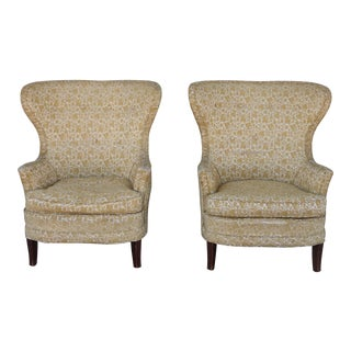 1940's Antique Wingback Chairs