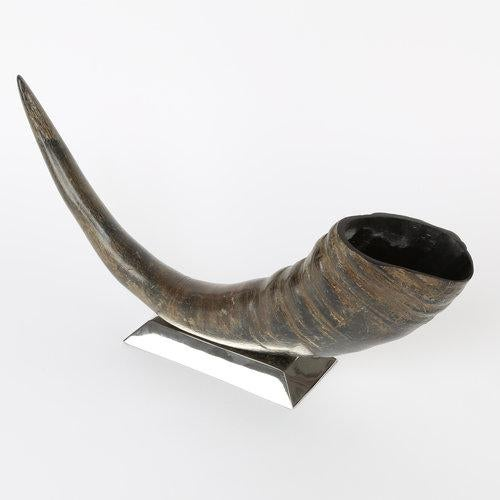 1970s 1970's VINTAGE SCULPTURAL WATER BUFFALO HORN ACCESSORY For Sale - Image 5 of 8