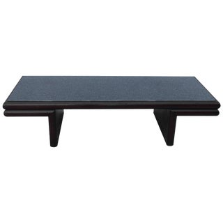 Harvey Probber Resin Top Modernist Coffee Table For Sale