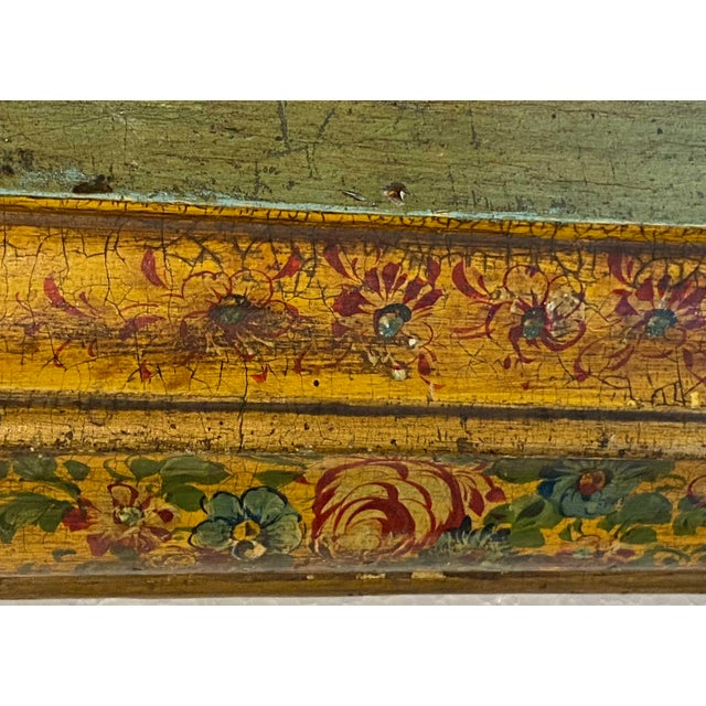 19th Century 19th Century Painted Italian Letter Box For Sale - Image 5 of 9