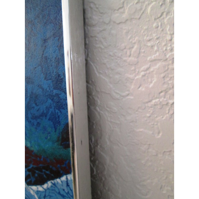 Abstract in Blue, Painting on Board - Image 6 of 7