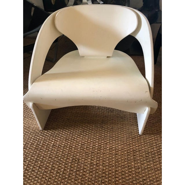 """Original Vintage Joe Colombo """"4801"""" Armchair, Made in Italy by Kartell For Sale In Washington DC - Image 6 of 9"""