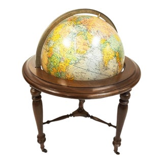 20th Century Americana Replogle Illuminated Floorstanding Globe