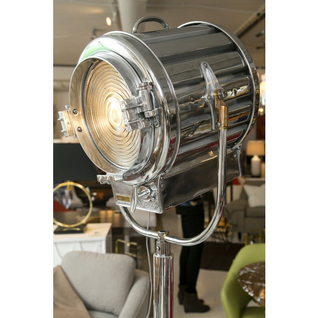 1940s Mole-Richardson Industrial Lamps - A Pair