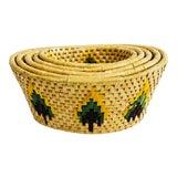 Image of Vintage Southwestern Woven Nesting Baskets - Set of 5 For Sale