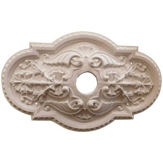 """Victorian Oval"" Plaster Ceiling Medallions For Sale"