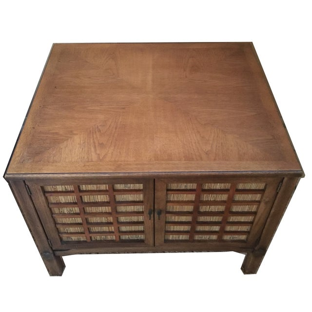 Mid-Century Modern Square Commode - Image 2 of 5