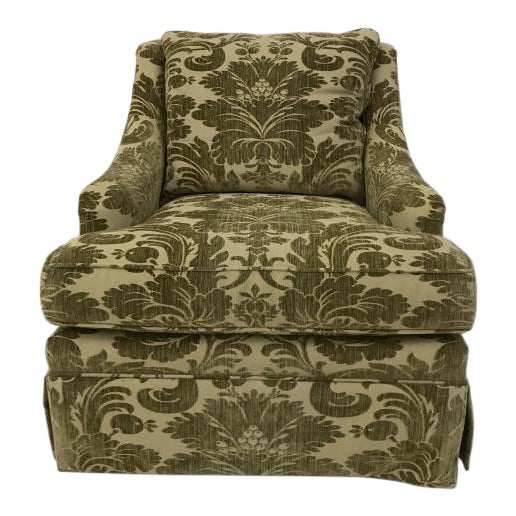 Century Furniture Portola Skirted Chair For Sale