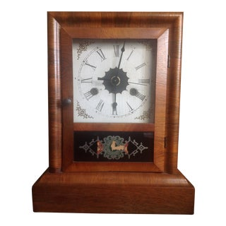 Art Deco Mantle Clock For Sale