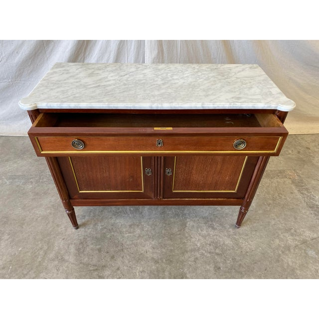 French Marble Top Italian Buffet - 19th C For Sale - Image 3 of 10
