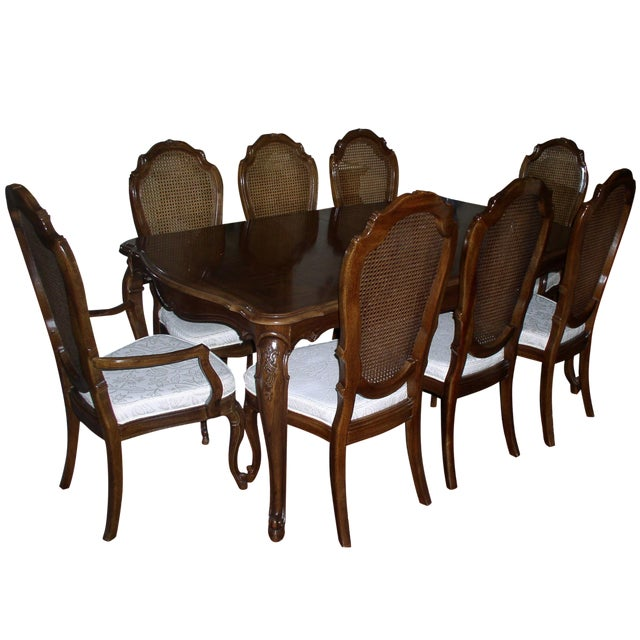 Thomasville Dining Set with 8 Chairs - Image 1 of 10