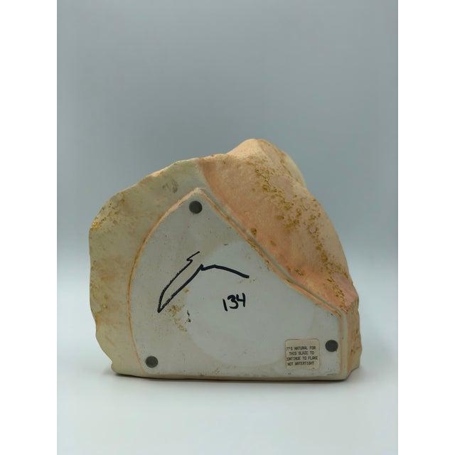 Late 20th Century Tony Evans Raku Pottery Vase For Sale - Image 5 of 7