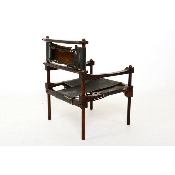 Mid-Century Modern Mexican Modernist Don Shoemaker Perno Chair For Sale - Image 3 of 6