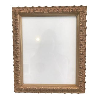 Gold Leaf Photo Frame For Sale
