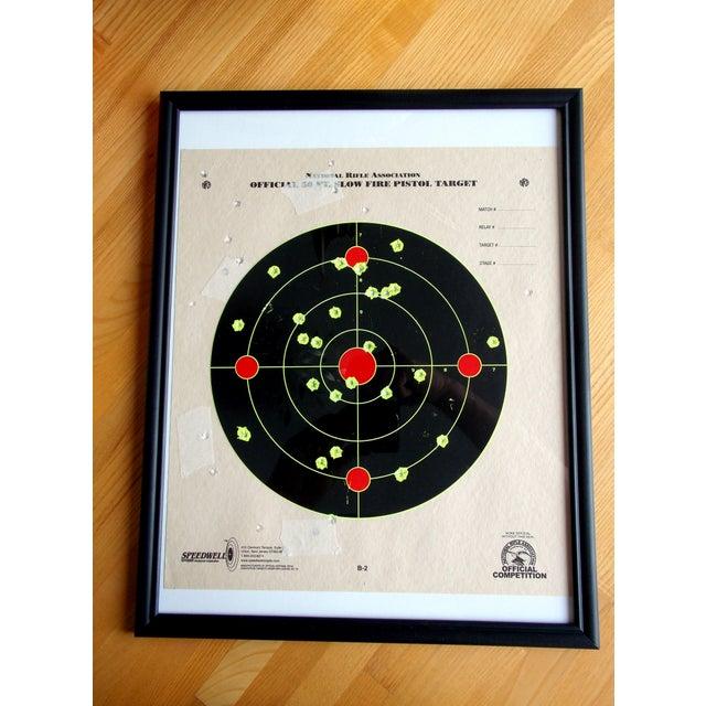 Framed NRA Shooting Target - Image 6 of 11